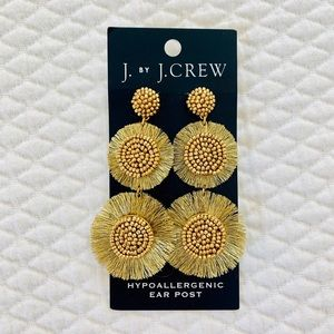 J. Crew Factory Jewelry - J. Crew Factory Gold Statement Earrings